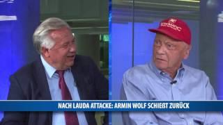 Nach Lauda-Attacke: Armin Wolf schießt zurück