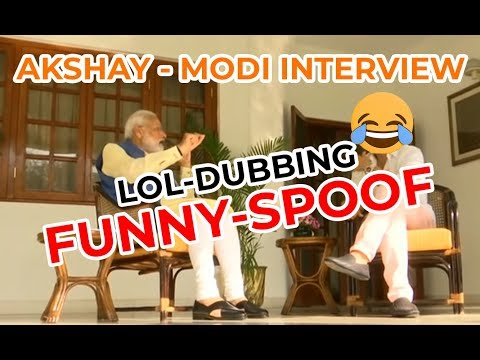 Bollywood Classroom | Akshay Interviews Modi | Funny Dubbing