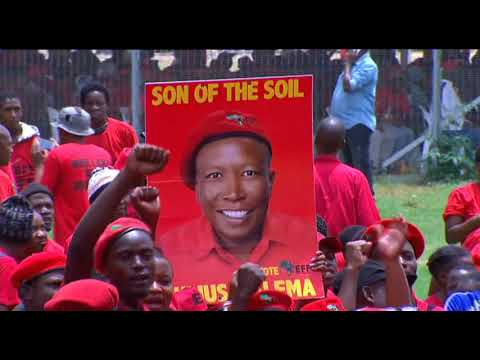 EFF Zimbabwe also attends Manifesto launch, Pretoria