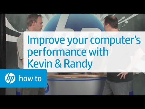 Improving Your Computer's Performance - From the Desktop with Kevin & Randy | HP Computers | HP