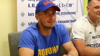Wojciech Skorupka (Korona Ostro³êka) o meczu z MKS Przasnysz