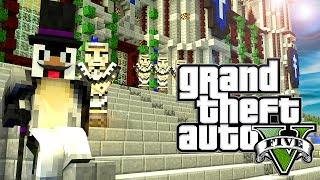 "Minecraft GTA V | Grand Theft Auto 5 Mod Ep 13! ""WOLF ON WALL STREET"" (GTA 5)"