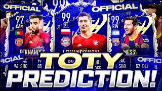 FIFA 21 Team of the Year Prediction!