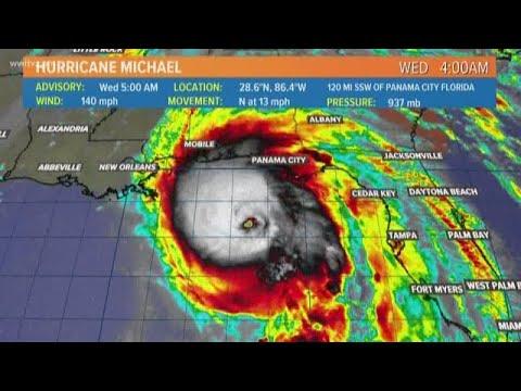 5 AM Update: Hurricane Michael strengthens to dangerous Cat. 4 storm