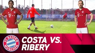 Costa vs. Ribéry | Penalty-Challenge | Part 2