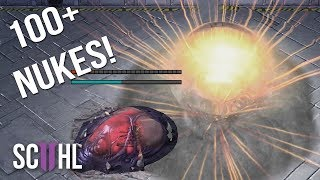 100+ NUKES in EPIC 80 Minute Starcraft Game - Scarlett vs. Maru