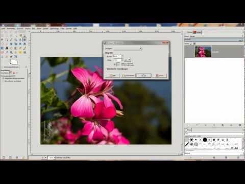155 GIMP-Tutorial Kalendervorlage selbst erstellen