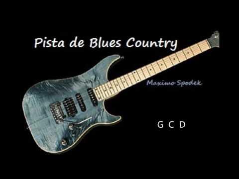 PISTA DE BLUES COUNTRY EN G, PARA IMPROVISAR EN GUITARRA,  ARMONICA, ETC