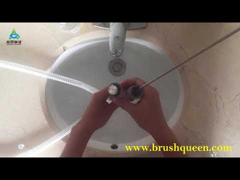 cpap tubing cleaning brush/drain pipe cleaner brush/super flexible drain brush clean CPAP tubes