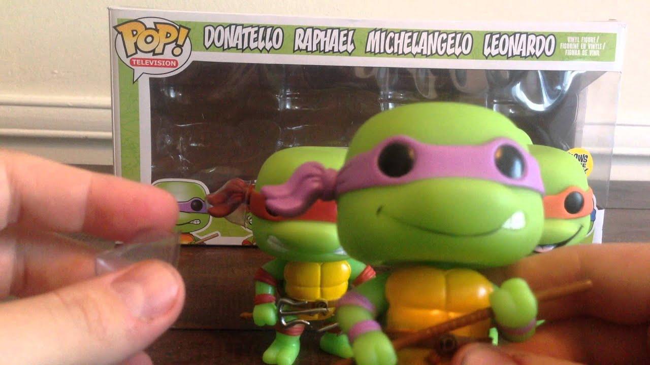 b3637e96102 Funko - Ninja Turtles Vinyl Figures   REVIEW   Amazon.com Exclusive ...