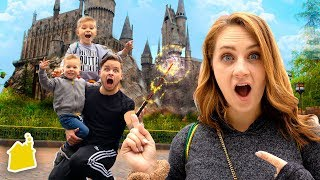 MAGICAL HOGWARTS SUMMER FAMILY VACATION!