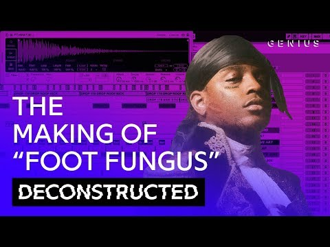"""The Making Of Ski Mask The Slump God's """"Foot Fungus"""" With Kenny Beats 