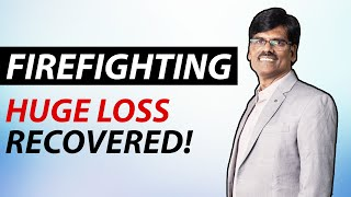 How I Turned HUGE LOSS into PROFIT by FIREFIGHTING | Infosys Trade