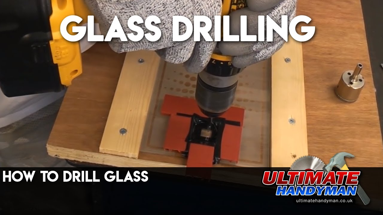 How to drill glass | Glass drilling