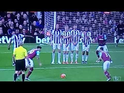 Mauro Zarate goal vs West Brom