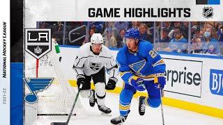 Kings @ Blues 10/23/21 | NHL Highlights