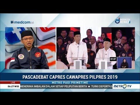 Pascadebat Capres Cawapres Pilpres 2019