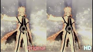 Naruto Shippuden Ultimate Ninja Storm Legacy - Storm 3 Remastered HD comparison
