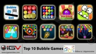Top 10 Bubble Games For iPhone / iPad / iPod Touch