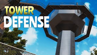 TOWER DEFENSE (7 days to Die) (Rhinocrunch)