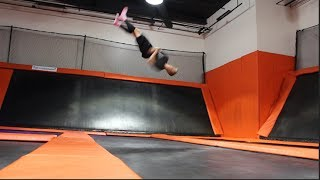 BIG AIR TRAMPOLINE PARK WITH FRIENDS!!!
