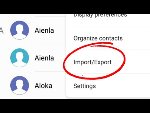 Huawei Honor Phone || How To Import Contacts