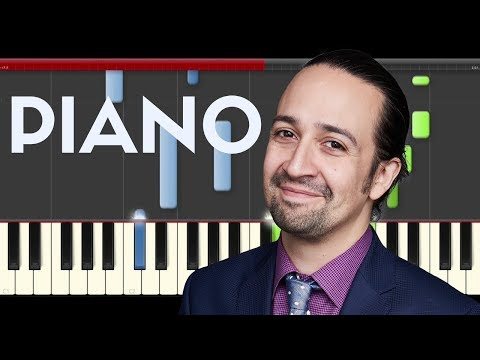 Manuel Miranda Almost Like Praying ft Artist Puerto Rico Piano Midi tutorial Sheet Cover Karaoke