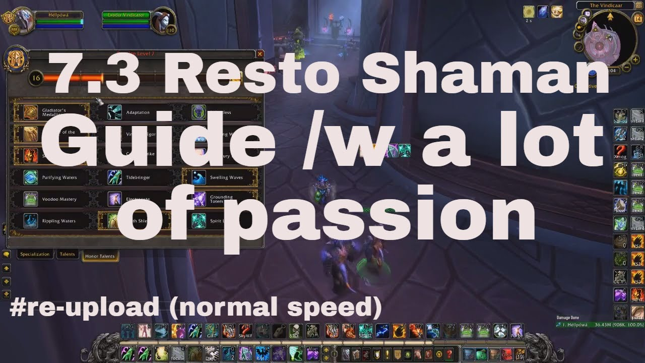Pvp enhancement shaman guide, wow wotlk 3. 3. 5a gnarly guides.