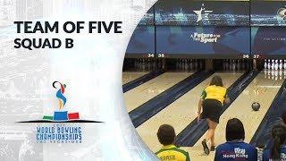 Team of Five Squad B - World Bowling Championships 2017