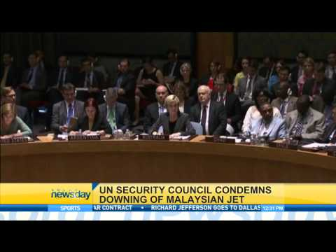 UN Security Council Condemns Downing of Malaysian Jet
