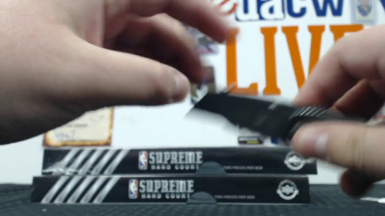 2017 18 Upper Deck Supreme Hard Court Basketball 2-Box - DACW Live 27 Spot  Random Player Break  5 b68566c4a