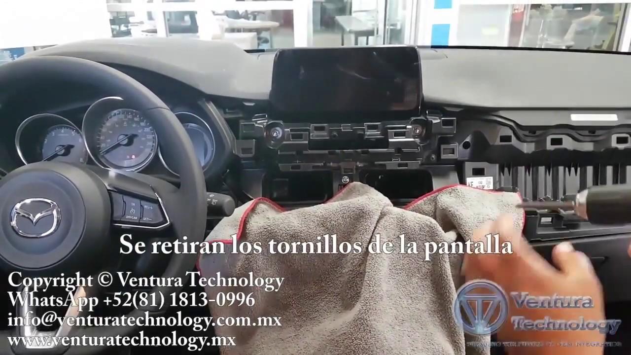 Disassemble Mazda CX 5 panel and CMU