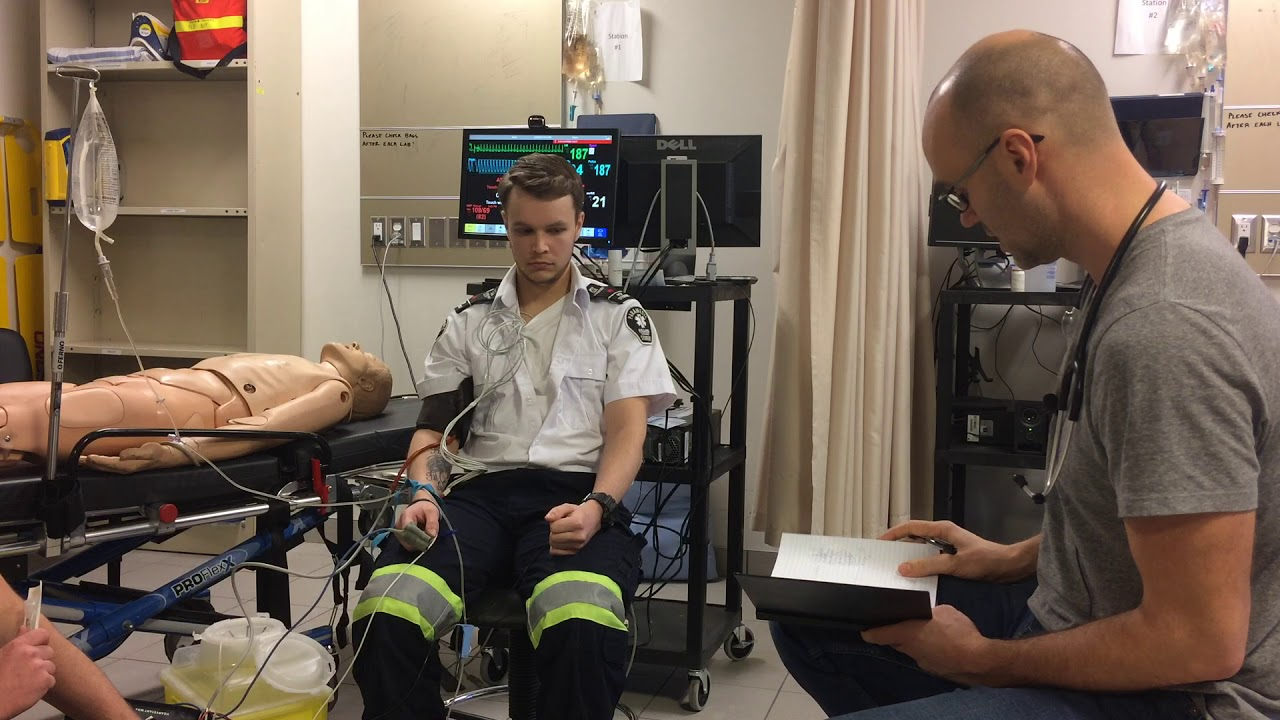 ACLS – Stable SVT – Scenario Demonstration by Paramedic (ACP)