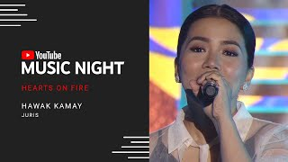 Juris - Hawak Kamay | Hearts on Fire: Juris & Jed | YouTube Music Night