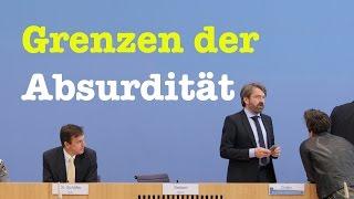 Komplette Bundespressekonferenz vom 12. April 2017