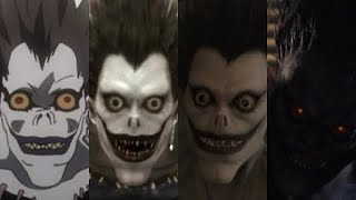 Evolution of Ryuk in Anime & Live Action 2006 - 2017