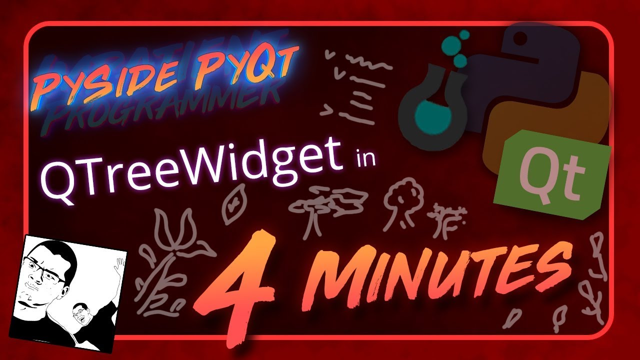 Repeat PySide + PyQt | QTreeWidget in 4 Minutes by Trevor Payne