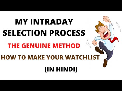How To Select Stocks For Intraday Trading | Intraday Stocks Selection Strategy | Intraday Tomorrow