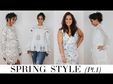 WHAT I'VE BOUGHT - SPRING FASHION HAUL & TRY-ON Part 1 | Beauty Passionista | Ambarina