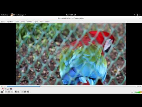 Ubuntu 18.04 Linux How to Cut Video Clips using VLC Media Player