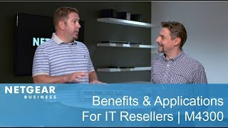 M4300-96X Modular Managed Switch: Benefits & Applications for IT Resellers | NETGEAR Business