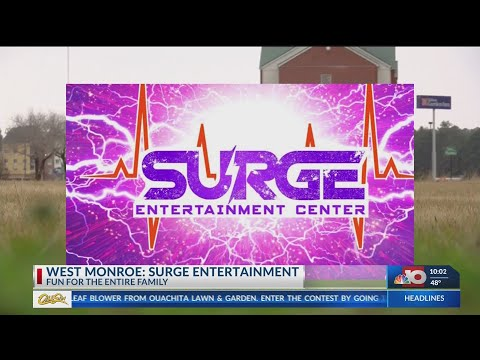 Surge Entertainment Center Coming To West Monroe Youtube