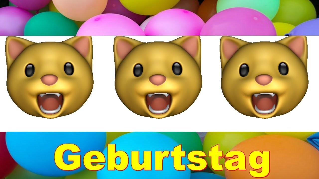 GEBURTSTAGSKIND Alles Liebe Gute Zum Geburtstag Happy Birthday To You IPhone 11 Emoji