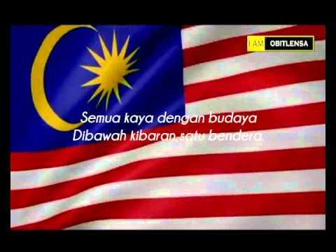 Saya Anak Malaysia with lyrics