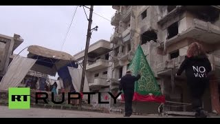 Syria: War-torn Homs conjures Christmas cheer amidst rubble