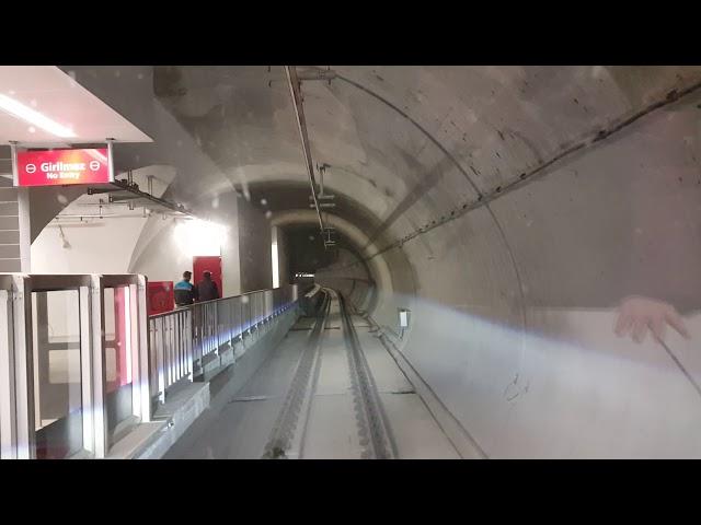 Üsküdar Ümraniye Çekmeköy Metrosu ilk etap izlenimleri 1