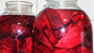 НАСТОЙКА из СВЕКЛЫ очищает сосуды и нормализует давление. Полезное домашнее вино, бражка, квас.