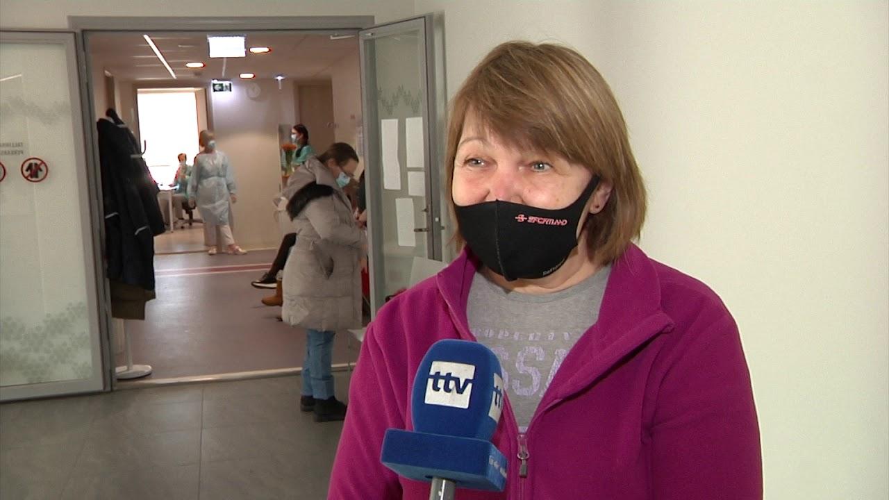 08.03.2021 - Sajad Tallinna sotsiaaltöötajad on saanud kaitsesüsti