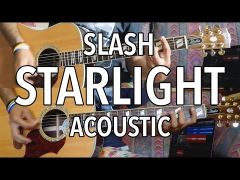 SLASH - Starlight [Acoustic Guitar Cover - Max Session Style]