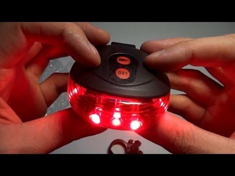 Задний фонарь с лазером для велосипеда из Китая